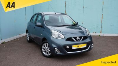 Nissan Micra 1.2 Acenta 5dr CVT LOW MILEAGE Hatchback Petrol GreyNissan Micra 1.2 Acenta 5dr CVT LOW MILEAGE Hatchback Petrol Grey at Northridge Cars Hemel Hempstead